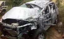 Acidente deixa duas pessoas mortas e três feridas na BR-423 em Jupi (Danilo César/ TV Asa Branca)