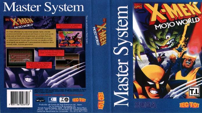 X-Men Mojo World, originalmente lançado para o Game Gear ganhou uma versão Master System no Brazil (Foto: Reprodução/The Old Computer)