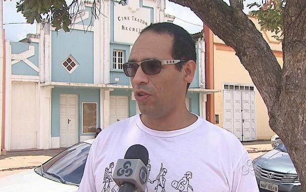 Diretor do Pachamama, fala sobre a quarta edição do festival (Foto: Reprodução TV Acre)