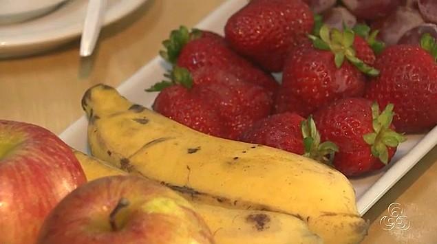 Frutas no café da manhã, alimento saudável (Foto: Bom dia Amazônia)