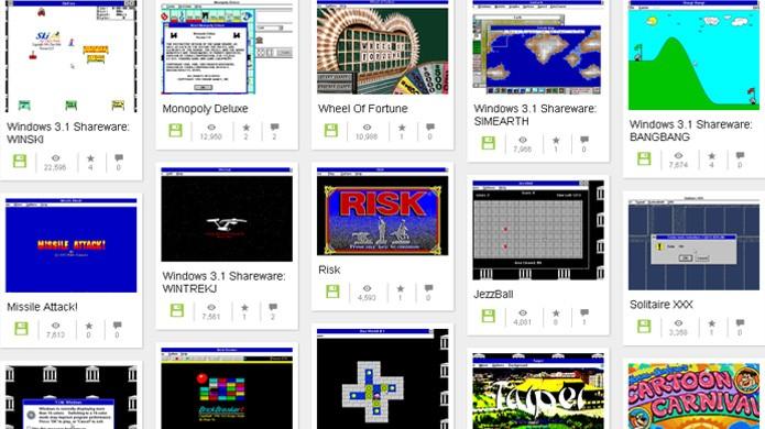 Jogos classicos online