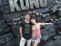 Juliano Laham e Amanda de Godoi vivem experiência irada em atração do Universal Orlando Resort