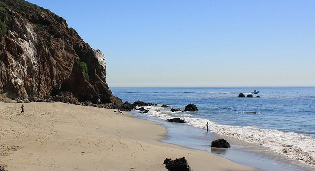 Westward Beach, Point Dume, Malibu, Califrnia, EUA (Foto: Divulgao)