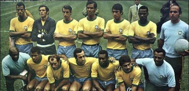 Seleção brasileira 1970 (Foto: Divulgação)