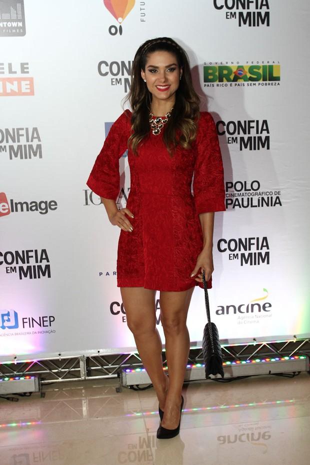 Fernanda Machado em pré-estreia de filme em São Paulo (Foto: Claudio Augusto / Foto Rio News)