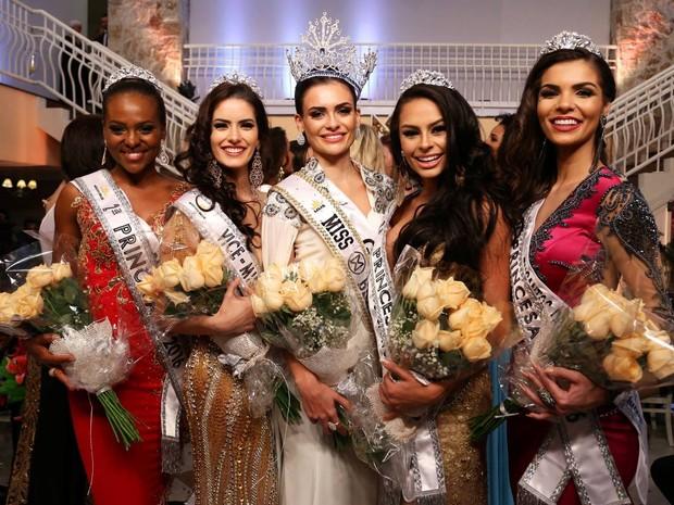 Miss, vice e princesas são de GO, MS, ES, RS e SC (Foto: Leonardo Rodrigues/Divulgação)