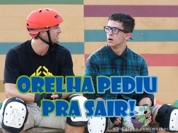 VISH! Que carreira curta, hein Orelhudo! Já se aposentou??? Como assim? (Foto: Malhação / TV Globo)