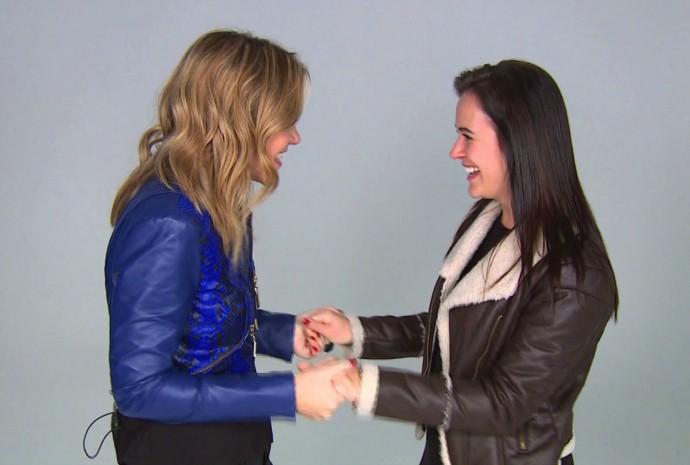 Mistura com Rodaika Help Katy Perry (Foto: Reprodução/RBS TV)