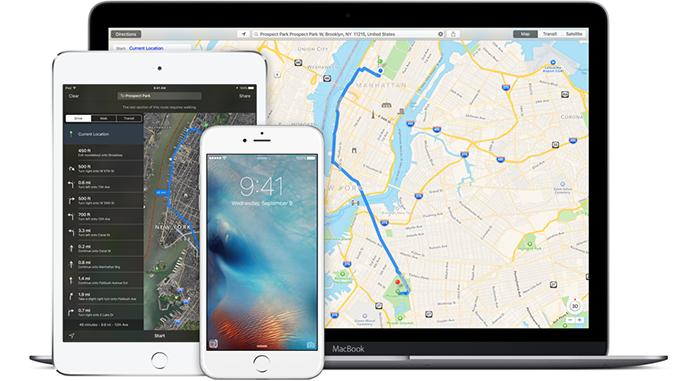 Apple Maps ainda não chega perto do Google Maps (Foto: Divulgação)