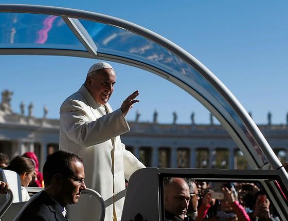 O Papa Francisco (Foto:  Tony Gentile/Reuters)
