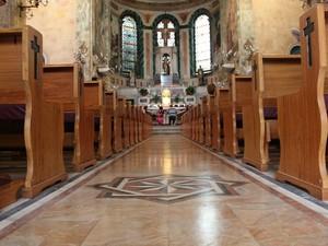 Igreja São Sebastião foi construída no século 19 (Foto: Diego Toledano/G1 AM)
