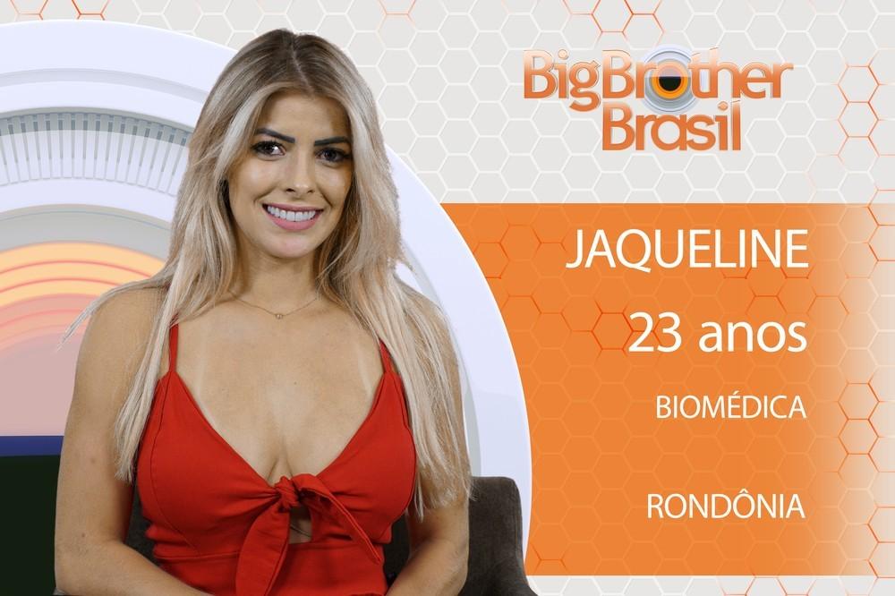 BBB 18 - Jaqueline (Foto: BBB)
