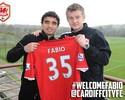 Fábio sai do atual campeão inglês United e chega ao lanterna Cardiff