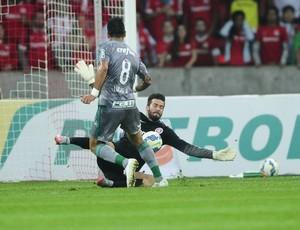 Internacional x Palmeiras Inter Beira-Rio inter Alisson defesa Copa do Brasil (Foto: Ricardo Duarte/Internacional)