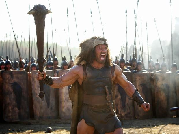 Dwayne Johnson, The Rock, interpreta Hércules (Foto: Divulgação)