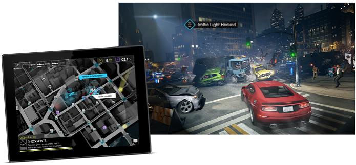 Watch Dogs ganhou app gratuito que permite participar do game de amigos (Foto: Divulgação)