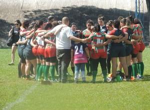 Estreia Uberlândia Rugby (Foto: Helen Lagares)