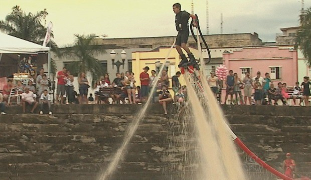 Esporte vira atração na capital do Acre. (Foto: Acre TV)