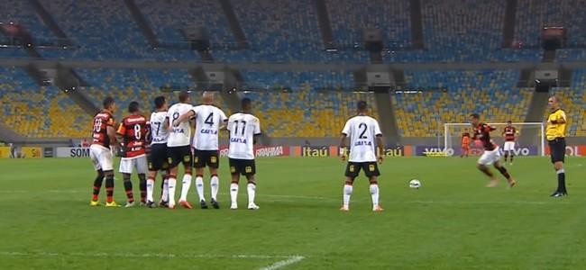 Alan Patrick Flamengo (Foto: Reprodução SporTV)