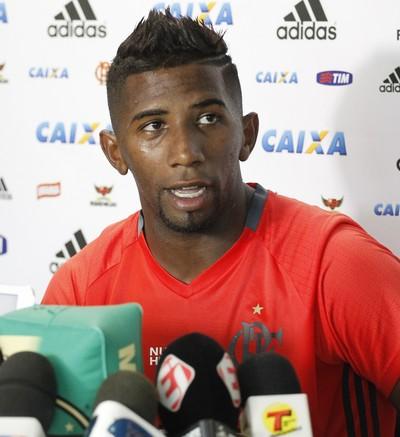Rodinei Flamengo entrevista (Foto: Gilvan de Souza / Flamengo)