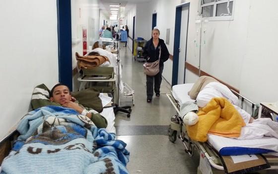 Hospitais em São Paulo. A saúde tem o maior orçamento nas contas municipais (Foto: Arte ÉPOCA)