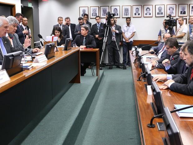 Conselho de Ética se reúne para analisar continuidade de processo sobre Eduardo Cunha (PMDB-RJ) (Foto: Antonio Augusto / Câmara dos Deputados)