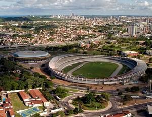 Estádio Machadão estádios da copa 2014 (Foto: Canindé Soares)