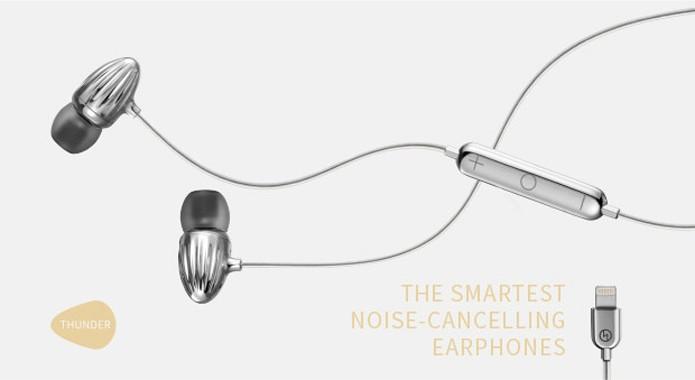 Fones de ouvido smart detectam e eliminam o som do ambiente (Foto: Reprodução/Indiegogo)
