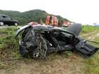 Mãe e filho morrem em acidente entre carro e ônibus na BR-470 em Gaspar