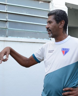 Jaques Carvalho técnico Ecus (Foto: Cairo Oliveira)
