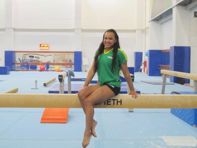 Rebeca Andrade treino ginástica artística (Foto: Danielle Rocha)