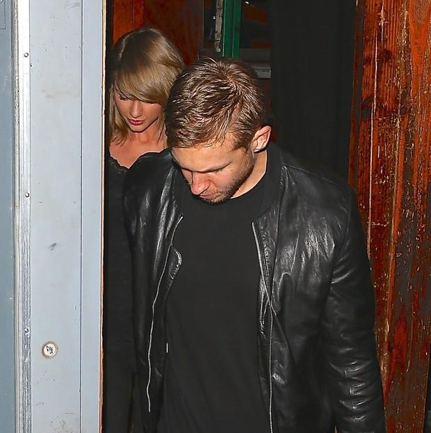 Taylor Swift e Calvin Harris (Foto: X17)