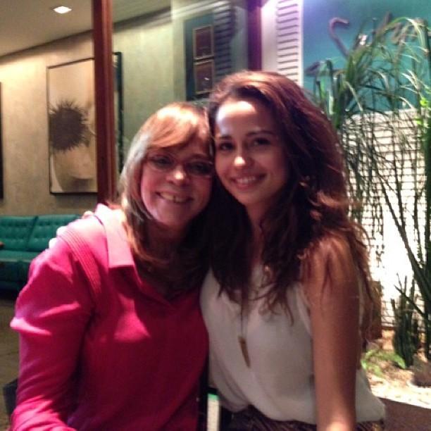 Gloria Perez e Nanda Costa (Foto: reprodução do Instagram)