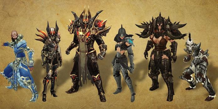 Diablo 3: conjuntos da sexta temporada (Foto: Divulgação/Blizzard)