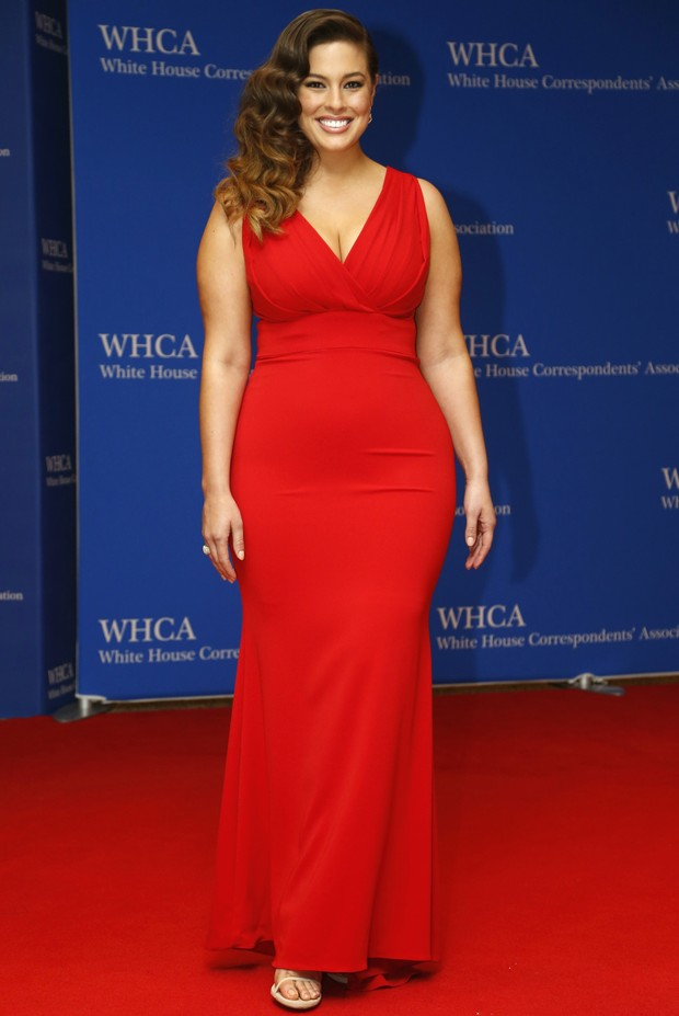 White House Correspondent's Dinner - Ashley Graham (Foto: Getty Images)