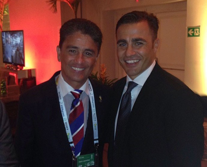 ¿Cuánto mide Fabio Cannavaro? - Real height Cannavaro_bebeto_instagram