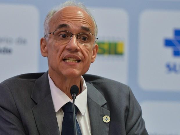 Antônio Carlos Nardi, secretário-executivo do Ministério da Saúde (Foto: Antonio Cruz/Agência Brasil)