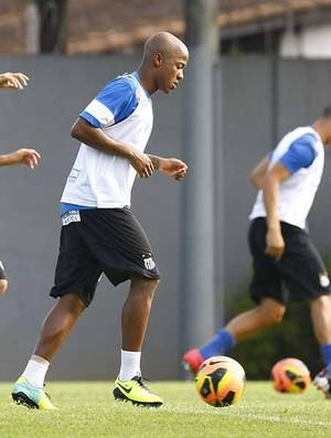 Victor Andrade treino Santos (Foto: Ricardo Saibun / Santos FC)