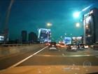 Câmeras registram meteoro que riscou o céu de Bangcoc, na Tailândia