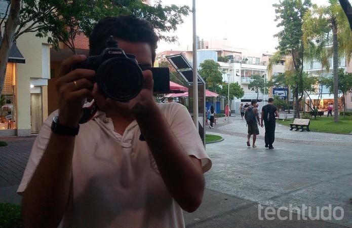 Foto tirada com a câmera do Positivo Octa X800 (Foto: TechTudo)