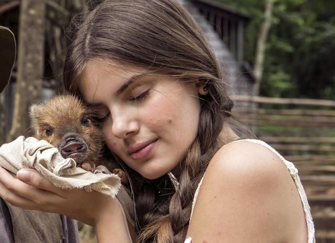 Camila conta que foi 'amor à primeira vista' quando conheceu Lili (Foto: Inácio Moraes/Gshow)