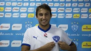 Fernando é o novo contratado do Paysandu  (Foto: Chico Atanásio/Papão Tv)
