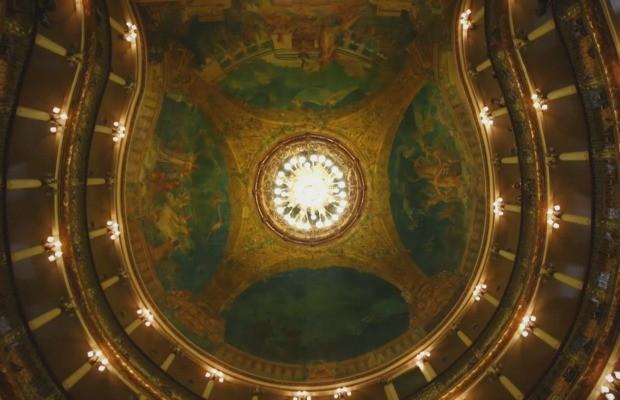 Teto do Teatro Amazonas  (Foto: Rede Amazônica)
