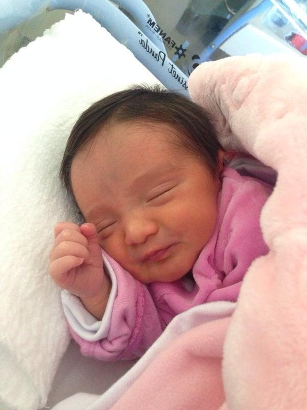 Isabella nasceu no dia 15 de julho (Foto: Arquivo Pessoal/Divulgação)