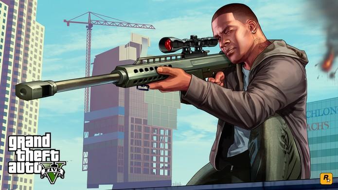 GTA 5 na Xbox Live (Foto: Divulgação/Rockstar) (Foto: GTA 5 na Xbox Live (Foto: Divulgação/Rockstar))