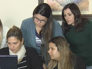 Grupo mobiliza doações através da internet (Foto: Reprodução/TV TEM)