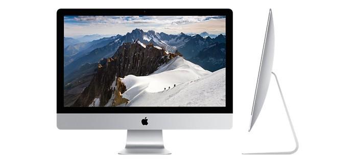 O iMac é o computador All in One mais bonito, mais caro e mais difícil de consertar (Foto: Divulgação/Apple)
