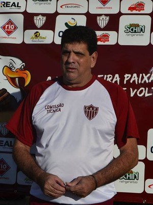 Luiz Eduardo, treinador, CAP Patrocínio, Patrocinense (Foto: Sofia Daura/CAP)