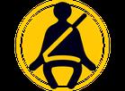 44. Cinto de segurança de três pontas (Foto: Autoesporte)