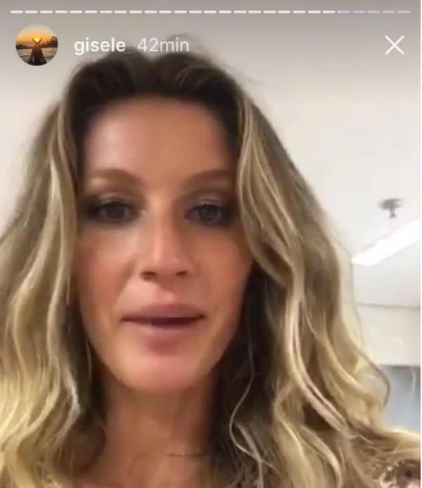 Gisele fala sobre sua participação nos Jogos após desfilar (Foto: Reprodução/Instagram)